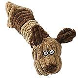 Ninkipet(ニンキペット)音の出るおもちゃ 噛むおもちゃ ペット用品 犬 おもちゃ ぬいぐるみ ストレス解消 運動不足 丈夫 耐久性 歯ぎしり 清潔 安全 (犬)