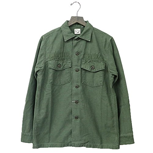 (オアスロウ) orSlow『US ARMY SHIRTS』(GREEN USED) (3(L), GREEN USED)