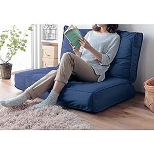 [ベルメゾン] 布団収納袋 ソファーに変身 ネイビー タイプ:掛け布団用