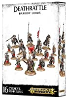 Games Workshop 99120207043 Deathrattle Barrow Lords Miniature