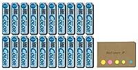 パイロットカラー機械鉛筆鉛eno、0.7MMソフトブルー、10、リード、20-pack、付箋値設定