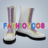 ★サイズ選択可★女性23.5CM UA0767 遊戯王ZEXAL 天城カイト コスプレ靴 ブーツ