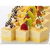 【業務用】フレック GFC420 ミニカットケーキ ミルクレープ 冷凍 48カット