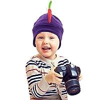 funkeet Kids恐竜帽子レインボーdgragonスパイク帽子楽しいパーティーコスチュームキャップ冬ビーニーの子