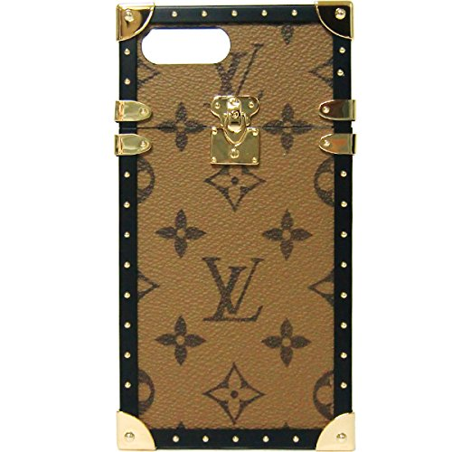 ルイ・ヴィトン LOUIS VUITTON LV モバイルアクセサリー M64487 モノグラム アイ・トランク iPhone7+ iPhoneケース【ブティック】 [並行輸入品]