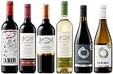 スペインの注目産地ビエルソ産含む 高樹齢ぶどうを使用した高コスパワイン 赤・白6本セット (赤750mlx4本、白750mlx2本) [スペイン/Amazon.co.jp限定/Winery Direct]