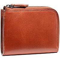 (ポヨリー) POYOLEE 財布 メンズ L字ファスナー 本革 小銭入れ 小型財布 コンパクト スキミング防止 男女兼用