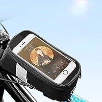 フレームバッグ トップチューブバッグ 自転車バッグ スマホ ホルダー サドルバッグ 収納可能 アクセサリー 防水 大容量 フロントバッグ サイクリング用