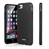 Evutec iPhone 7 AER Karbon Scratch Resistant Thin Slim Phone Case Lightweight Protective Case for Apple iPhone 7 [4.7 inch] - Black by Evutec
