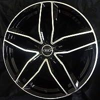 (アウディ)AUDI対応 20インチホイール (エーイチイチキューロク) A1196 インセット+35mm ポリッシュ/ブラック