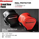 メガバス(Megabass) MEGABASS REEL PROTECTOR ブラック