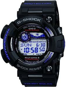 [カシオ]CASIO 腕時計 G-SHOCK ジーショック FROGMAN フロッグマン Men in Dark Purple タフソーラ- 電波時計 MULTIBAND 6 GWF-1000BP-1JF メンズ