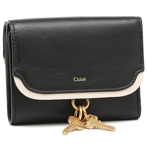 クロエ 財布 CHLOE 3P0912 H1Z 001 NICOL SMALL TRI-FOLD 二つ折り財布 BLACK [並行輸入品]