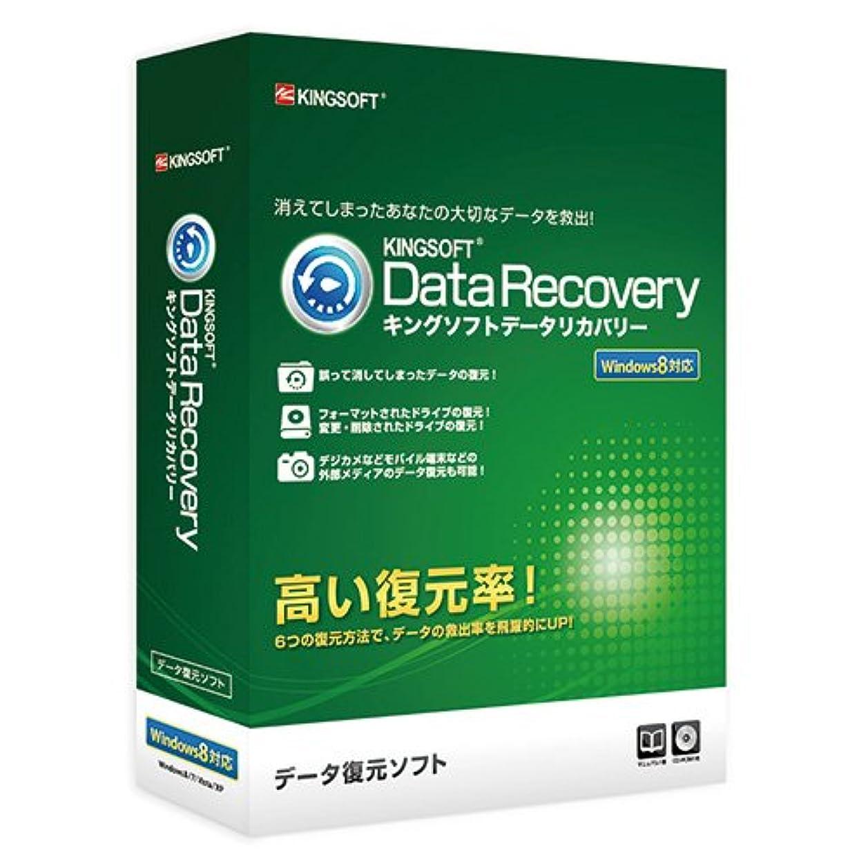 KINGSOFT Data Recovery パッケージ CD-ROM版