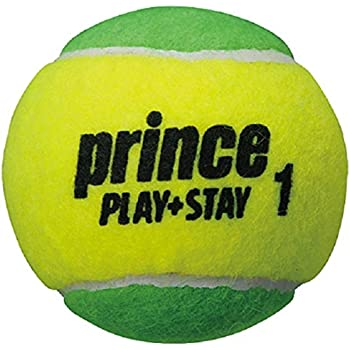 Prince(プリンス) キッズ テニス PLAY+STAY ステージ1 グリーンボール(12球入り) 7G321