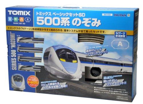 TOMIX Nゲージ 90158 ベーシックセットSD 500系のぞみ