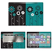 Decalrus - Protective Decal Floral Skin Sticker for HP ENVY 17M AE011DX (17.3 Screen) case cover wrap HPenvy17_ae011dx-70