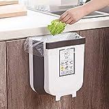 Amazon Prime AICONEZ Kitchen Trash Can, Cabinet Door Hanging Bin Trash Can,Hanging Trash Can Collapsible Small Garbage Waste