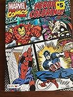 Marvel Comics Heroic Coloring Book