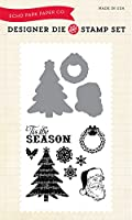 Echo Park Paper Company Classic Christmas Die/Stamp Set by Echo Park Paper