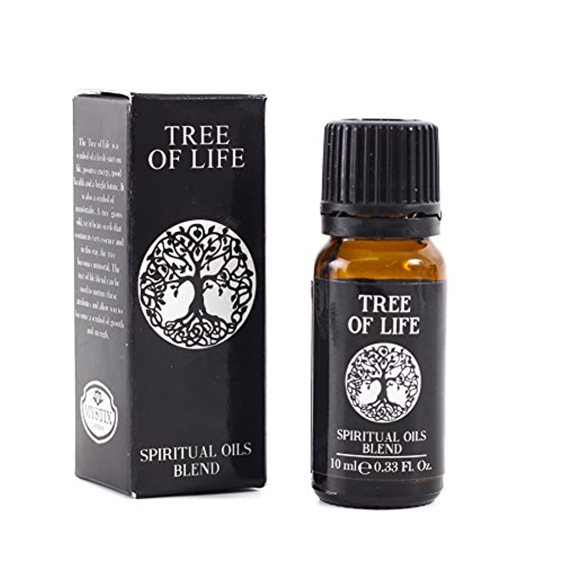 自信がある品鉱石Mystic Moments | Tree of Life | Spiritual Essential Oil Blend - 10ml