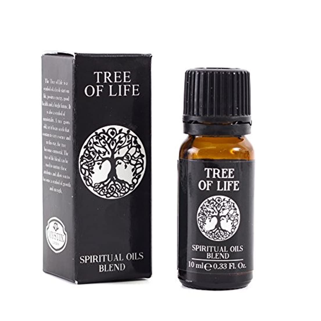 本質的に敏感な有名人Mystic Moments | Tree of Life | Spiritual Essential Oil Blend - 10ml