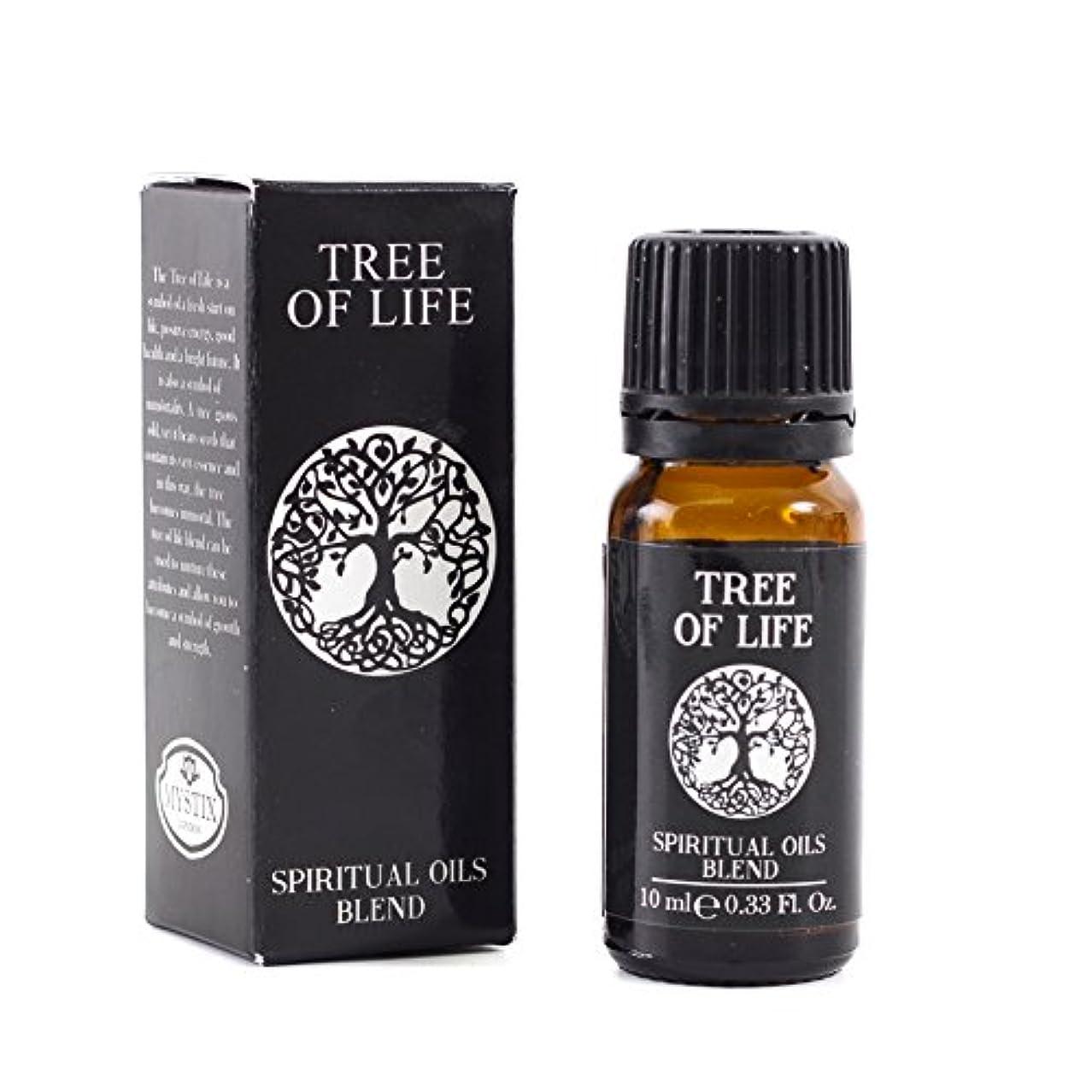 オープニング落花生順応性Mystic Moments | Tree of Life | Spiritual Essential Oil Blend - 10ml