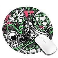 ニュー・ファウンド・グローリー New Found Glory 丸型マウスパッド 丸い 滑り止め ゴムマウスパッド ゲーム オフィス マウスパッド デスク装飾 ギフト
