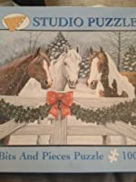 Studio Puzzle Bits and Pieces Puzzle Winter Trio 1000 [並行輸入品]