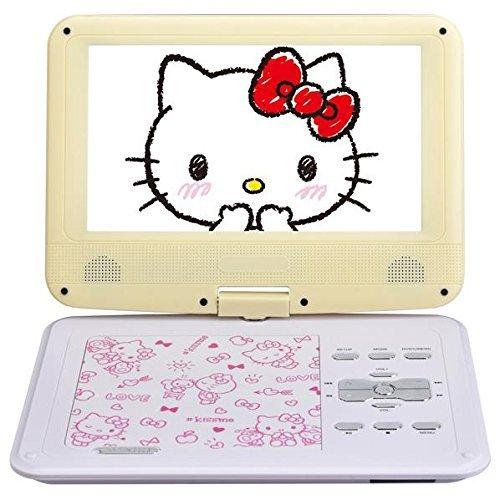 AVOX 9型ポータブルDVDプレーヤー ハローキティモデル (イエロー) HELLO KITTY モデル ADP-9030MKTY-Y(AVOX)
