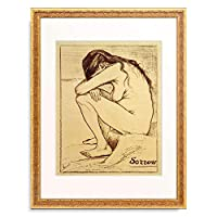 フィンセント・ファン・ゴッホ Vincent Willem van Gogh 「Sorrow」 額装アート作品