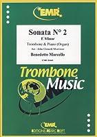 MARCELLO - Sonata nコ 2 en Mi menor para Trombon y Piano (Organo) (Mortimer)