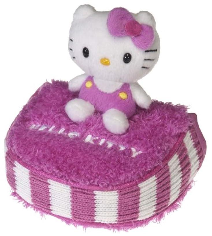 震える努力方程式ハローキティ(Hello Kitty) マレット パターヘッドカバー ピンク/ホワイト HK052