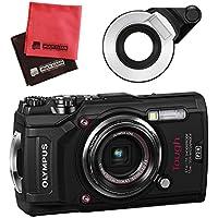 【セット】 OLYMPUS オリンパス コンパクトデジタルカメラ Tough TG-5 ブラック&SD16GB&フラッシュディフューザー&クロス