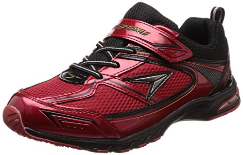 [シュンソク] 運動靴 防水 Hi-Standard 19cm~24.5cm 2E キッズ 男の子 SJJ 5180 レッド 19 cm