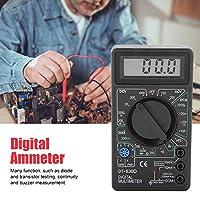 デジタルマルチメータ、DT830DミニLCDディスプレイデジタルマルチメータ電圧計電流計オーム計テスト機器。