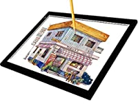 a4l超薄型ポータブルLEDライトボックスTracer USB電源ケーブル調光機能付き明るさLEDライトパッドArtcraftトレースwith Tracing Paper for Artists図面スケッチアニメーションStencilling x-rayviewing