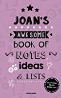 Joan's Awesome Book of Notes, Lists & Ideas: Featuring Brain Exercises!
