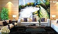 Bzbhart テレビの背景装飾画、壁用ステッカーカスタマイズすることができます3 D視覚空間家の装飾壁画アート壁紙夢子供人格壁ステッカー家の装飾-120cmx100cm