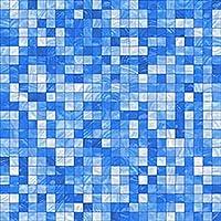 かわいいウォールステッカー、10月15日/ 20/23 / 30CM模造大理石の家具PVC防水自己粘着キッチンバスルームモザイクタイルステッカーウォールアート、Mosaic4,10x10cmx10pcs