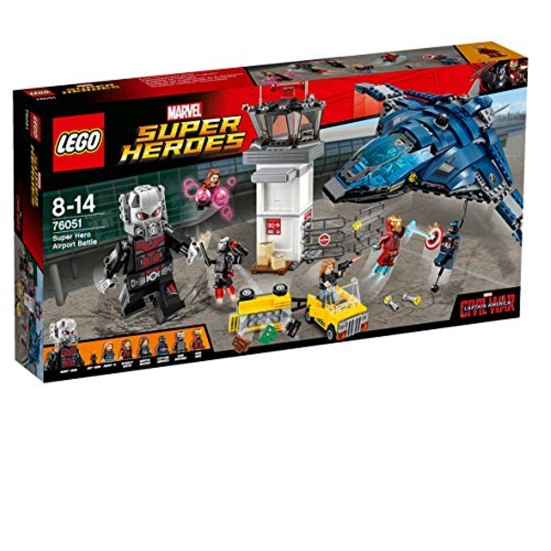 レゴ (LEGO) スーパー?ヒーローズ スーパーヒーロー エアポートバトル 76051