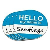 サンティアゴこんにちは、私の名前はコースターセット