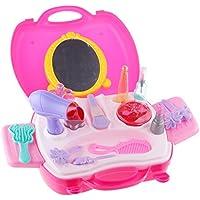 【ノーブランド品】21pcs ビューティー プリンセス ドレッシング 化粧 おもちゃ セット 子供 女の子 贈り物