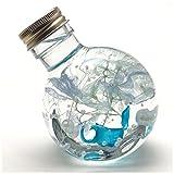 かのん ハーバリウム プリザーブド フラワー ハーバランド JHA 2wayラウンドボトル (マリンクリスタル)