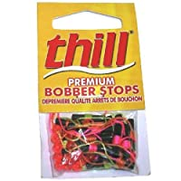 Thill Premium Bobber Stops - Assorted - 6 Each Colour