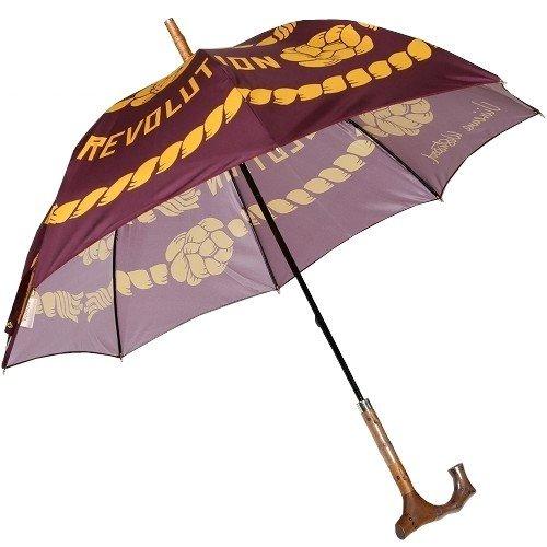 【Vivienne Westwood】ヴィヴィアンウエストウッド 「Worls end」CLIMATE REVOLUTION 婦人長傘(雨傘) 紫