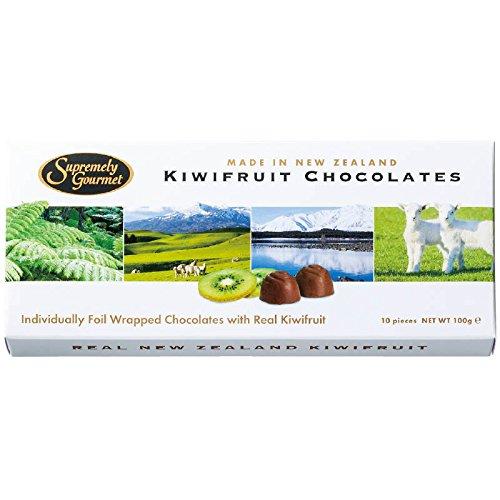 ニュージーランド 土産 キウイフルーツチョコレート 4箱セット (海外旅行 ニュージーランド お土産)