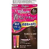 ホーユー ビゲン香りのヘアカラークリーム4D (落ち着いたライトブラウン)1剤40g+2剤40g [医薬部外品]