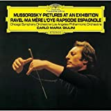 ムソルグスキー:組曲「展覧会の絵」、ラヴェル:組曲「マ・メール・ロワ」、スペイン狂詩曲