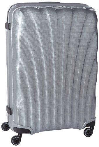 [サムソナイト] Samsonite スーツケース コスモライト スピナー81 123L 3.1kg 10年保証 大容量 V22*25107 25 (シルバー)
